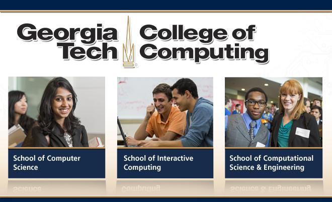 Georgia Tech College of Computing Virtual Career Fair Banner