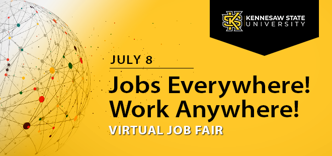 Kennesaw State University Virtual Job Fair Banner