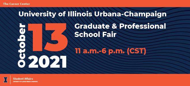 University of Illinois Graduate & Professional School Fair Banner