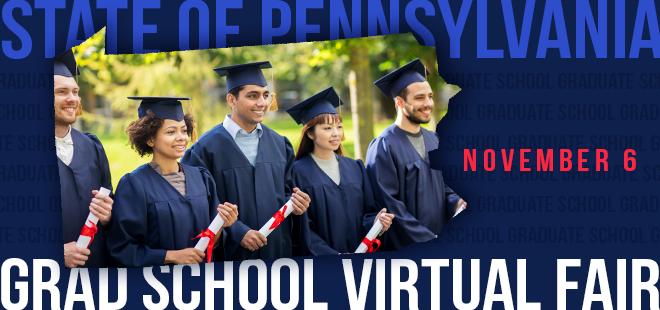 State of Pennsylvania Graduate School Virtual Fair Banner
