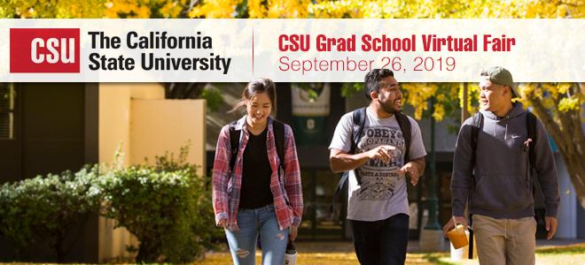 CSU Grad School Virtual Fair Banner