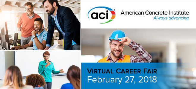 ACI Virtual Career Fair Banner