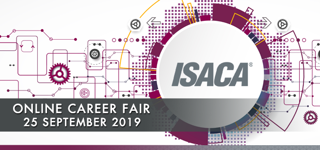 ISACA Online Career Fair Banner