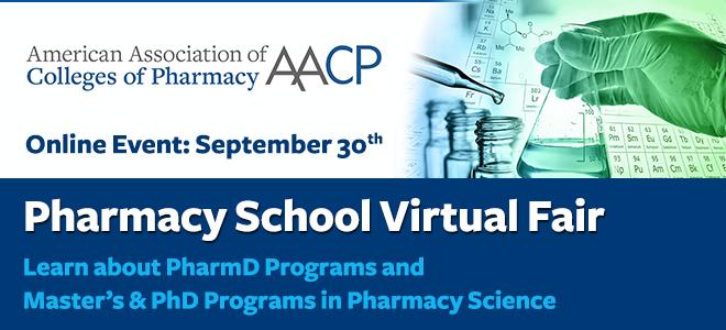 Pharmacy School Virtual Fair Banner