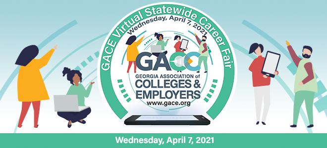 GACE Virtual Career Fair  Banner