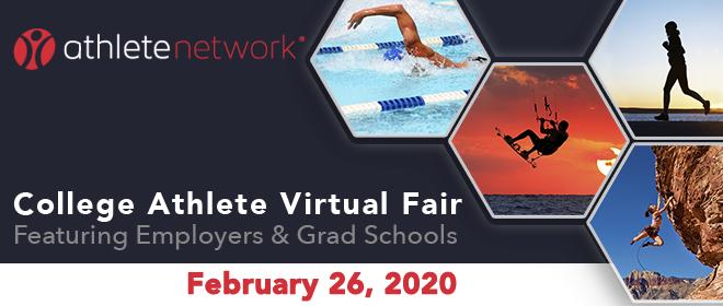 College Athlete Virtual Fair Banner