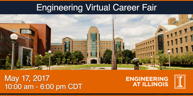 Engineering Virtual Career Fair Banner