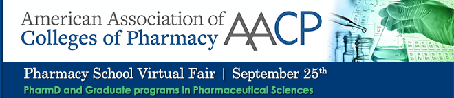 Pharmacy School Virtual Fair Banner
