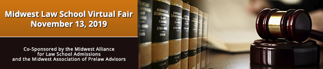 Midwest Law School Virtual Fair Banner