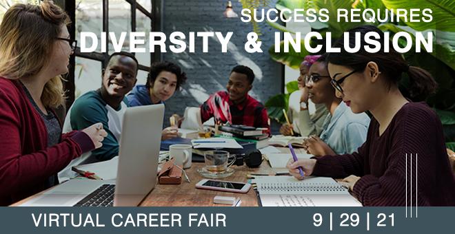 Diversity & Inclusion Virtual Career Fair Banner