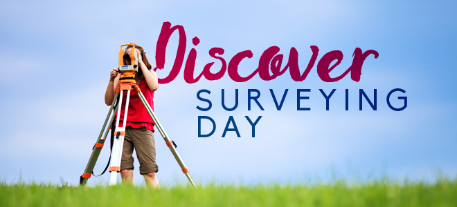 Discover Surveying Day Banner