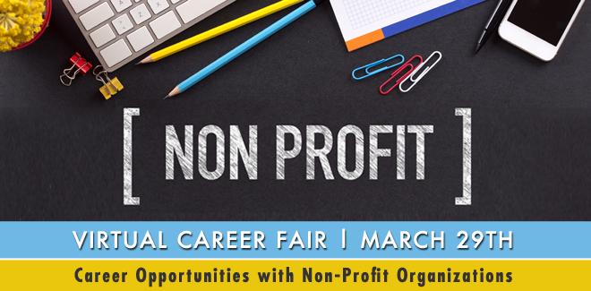 Non-Profit & NGO Virtual Career Fair Banner