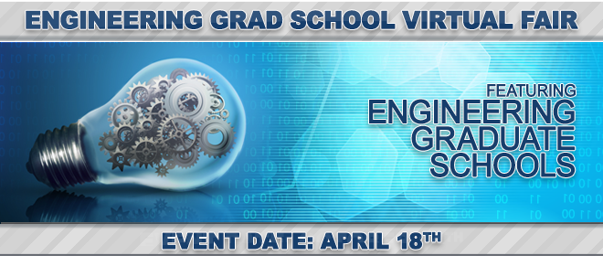 Engineering Grad School Virtual Fair Banner