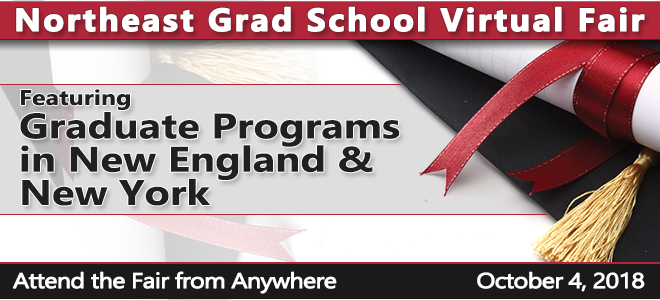 Northeast Grad School Virtual Fair Banner