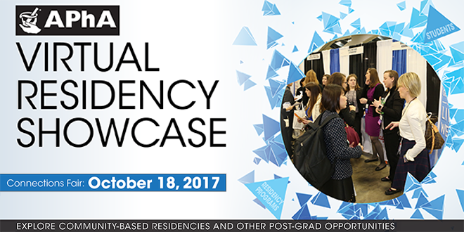 Virtual Residency Showcase – Hosted by APhA Banner