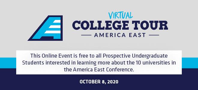 America East Virtual College Tour Banner