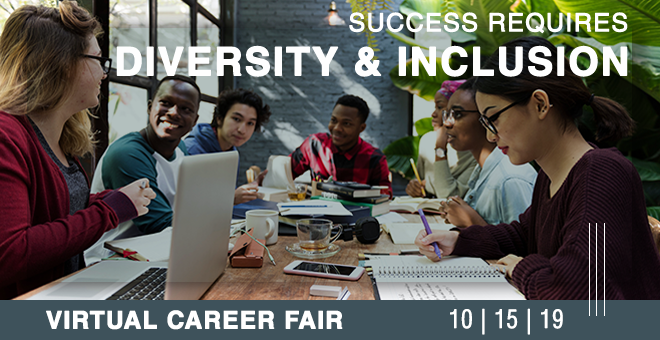 Diversity & Inclusion Virtual Career Fair Banner
