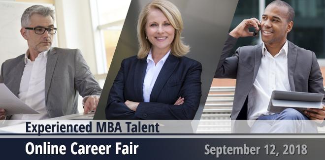 Experienced MBA Talent Virtual Career Fair