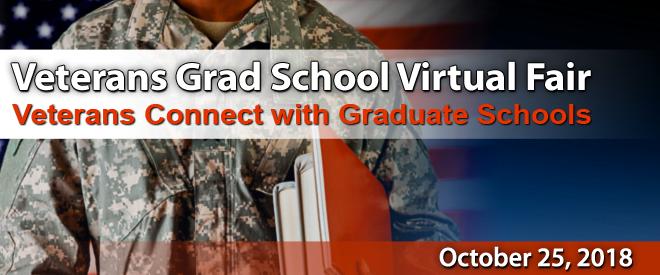 Grad School Virtual Fair for Veterans - Yellow Ribbon Programs Banner