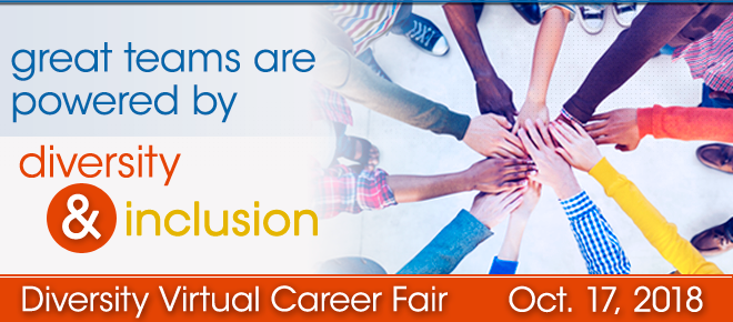 Diversity Virtual Career Fair Banner