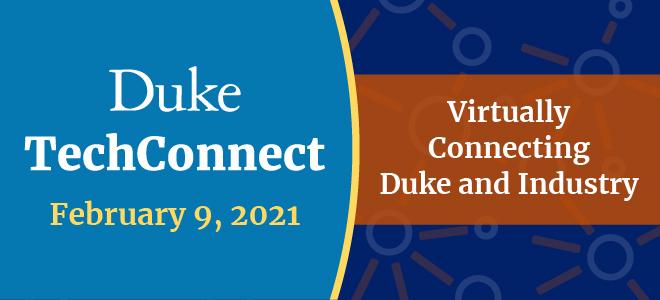 Duke TechConnect Virtual Fair Banner