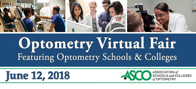 Optometry Virtual Fair Banner