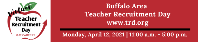 Buffalo Area Teacher Recruitment Day Banner