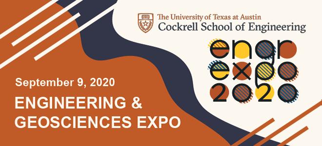 UT Austin Engineering Expo Virtual Career Fair Banner