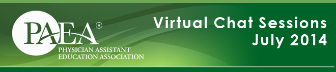 PAEA Virtual Chat Sessions Banner