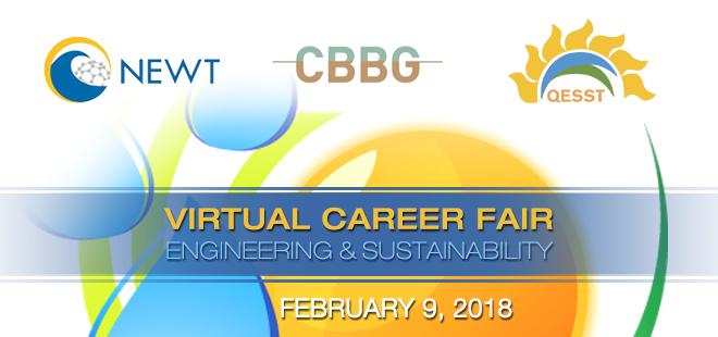 Engineering & Sustainability Virtual Career Fair Banner