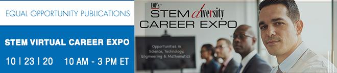 STEM Diversity Virtual Career Expo Banner