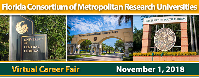 Florida Metropolitan Universities Virtual Career Fair Banner