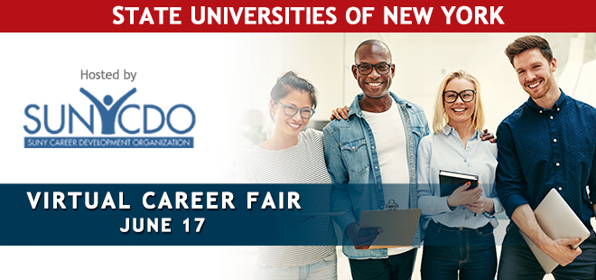 SUNY Virtual Career Fair Banner