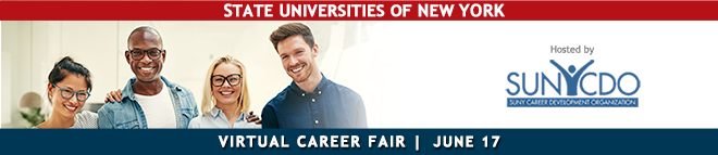 SUNY Virtual Career Fair Banner