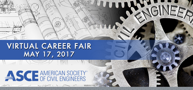 ASCE Virtual Career Fair Banner