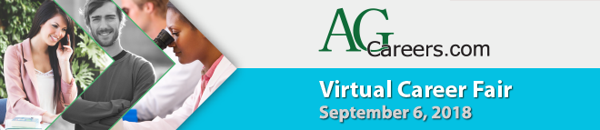 AgCareers.com Virtual Career Fair Banner