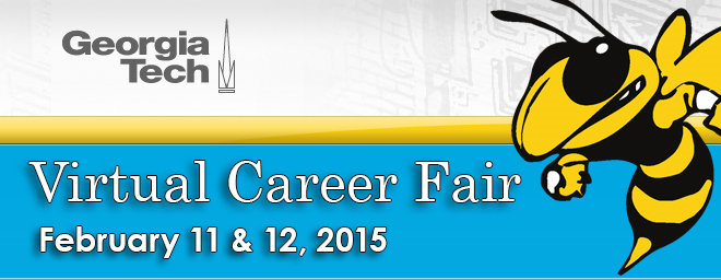 Georgia Tech Virtual Career Fair Banner