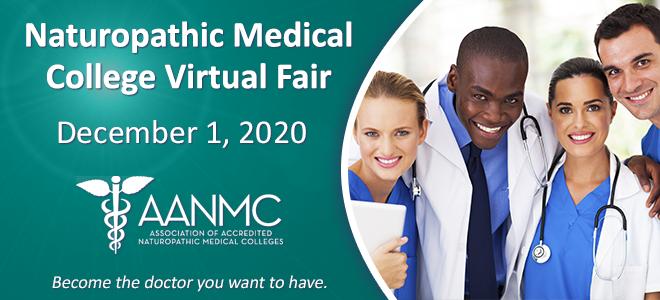 Naturopathic Medical College Virtual Fair Banner