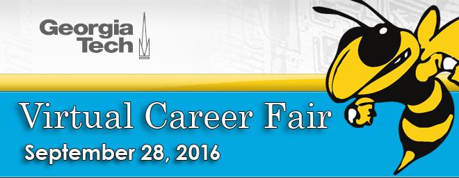 Georgia Tech Virtual Career Fair Banner