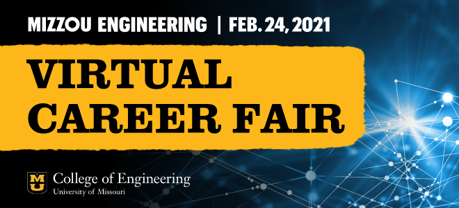 Mizzou Engineering Virtual Career Fair Banner