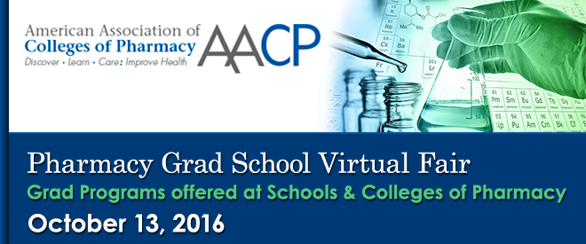 Pharmacy Grad School Virtual Fair Banner