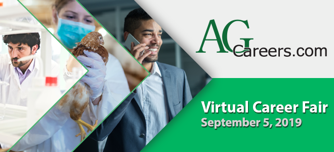 AgCareers.com Virtual Career Fair Banner