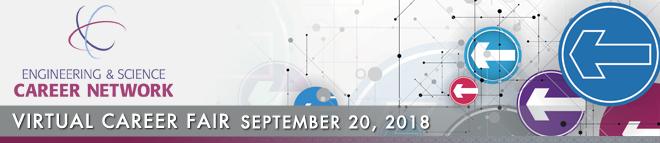 Engineering & Science Career Network Online Career Fair Banner