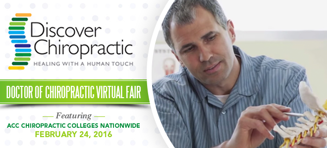 Doctor of Chiropractic Virtual Fair Banner