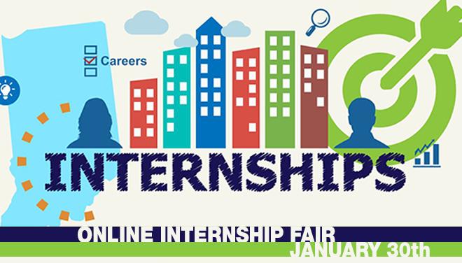 Indiana INTERNnet Online Internship Fair Banner