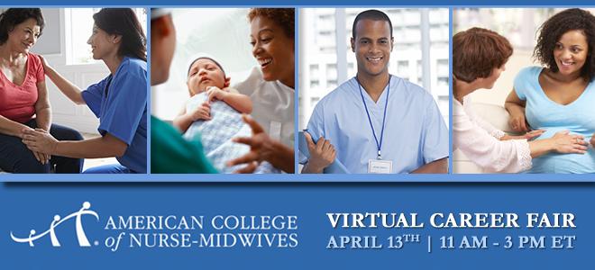 Midwifery Virtual Career Fair Banner