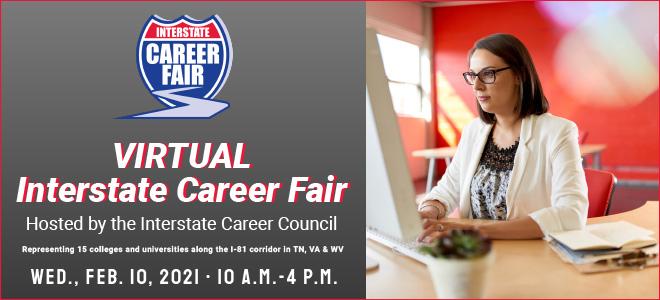 Virtual Interstate Career Fair Banner