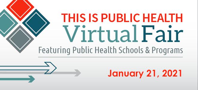 Virtual Fair: This is Public Health Banner