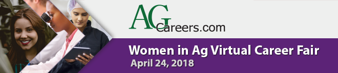 Women in Agriculture Virtual Career Fair Banner