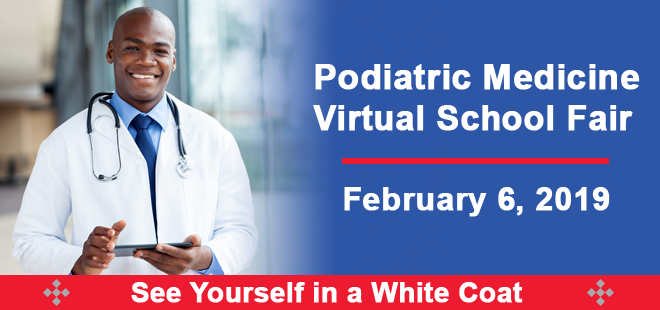 Podiatric Medicine Virtual Fair Banner